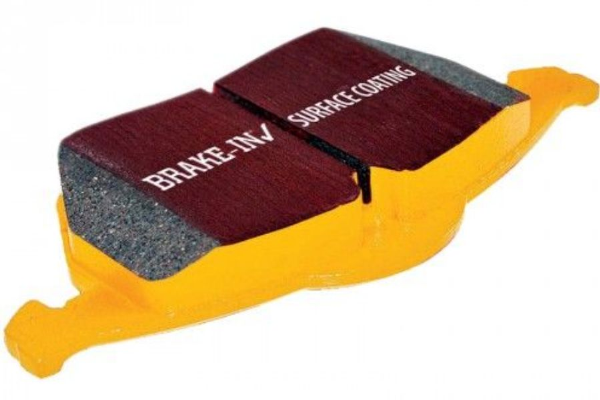 S-Type EBC Premium Quality Yellowstuff Rear Brake Pads